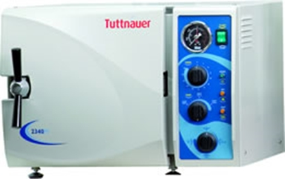 Picture of Tuttnauer 2540MK - Fast Manual Autoclave 2540MK - Manual Kwiklave