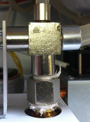 Picture of Bioclave Sterilizer Pressure Relaese Valve