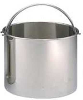 "Picture of Hirayam Sterilizer Pail for HG-80, SS, 13""D, 10.6""H"