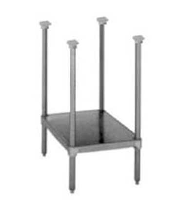 "Picture of Market Forge Sterilizer Stainless Steel Stand with Adjustable Shelf & Feet (29""High)***"
