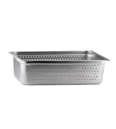 "Picture of Market Forge Sterilizer 12"" x 20"" x 6"" Perforated Tray (Holds (1) 6"" & (1) 2-1/2"")"